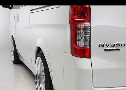 NV350 ワイド オーバーフェンダー