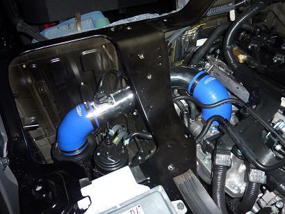NV350 カーボンチャンバー取付け
