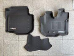 NV350 3Dフロアーマット フロント ラバー/350