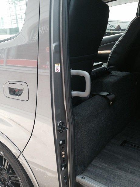 NV350 ワイドDX用 スライド アシストグリップ