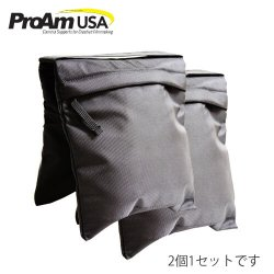 即納 【ProAm】 カメラクレーン/ジブ用ウェイト砂袋×2パック キャンバス素材