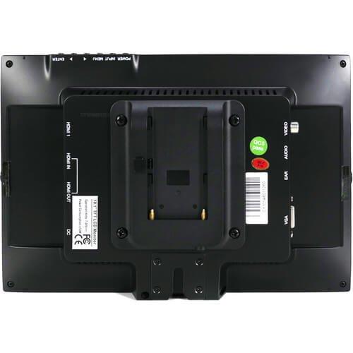 10.1インチ デュアルHDMI 液晶モニター カメラクレーン/ジブアーム用 3枚目