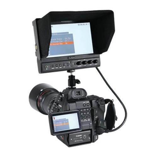 7インチ IRIS PRO HD LCD高画質モニター 3枚目