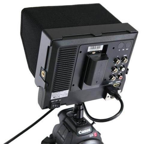 7インチ IRIS PRO HD LCD高画質モニター 4枚目