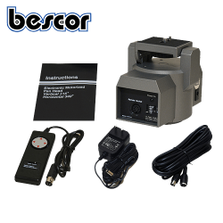 【Bescor】 MP-101 電動雲台 リモートパン/チルトヘッド ベーシックセット(リモコン、6m延長ケーブル付き)