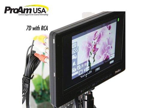 【ProAm】 7インチ IRIS PRO2 1080i/p HDMI RGB LCDモニター カメラクレーン/ジブアーム用 4枚目