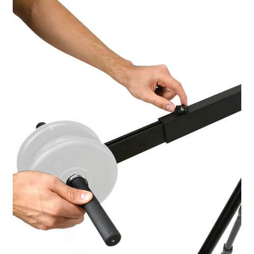 CarryOn Jib 全長1.4m〜2.4m 折りたたみ式 カメラクレーン 5枚目