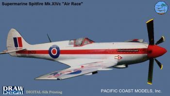 パシフィックコースト スピットファイアー Mk.14c エアレース RN.201 1/32