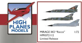 HPK72112 ダッソー ミラージュⅢO 偵察型 RAAF (限定品) 1/72