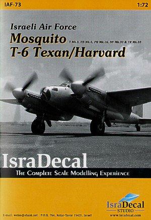 ISRADECAL IAF モスキート&T-6 テキサン/ハーバード 1/72
