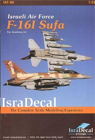 ISRADECAL IAF F-16I Sufa 1/32