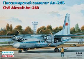 イースタンエクスプレス アントノフ An-24B 旅客機 1/144