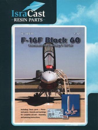 ISRACAST IC32030 F-16F Block 60 コンバージョン 1/32