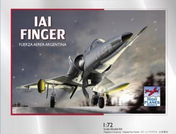 HPK72102 IAI フィンガー1 アルゼンチン空軍 1/72