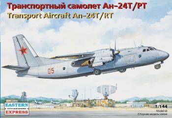 イースタンエクスプレス #14468 アントノフ An-24T/PT 旅客機 1/144