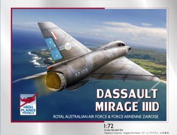 HPK72103 ダッソー ミラージュⅢ/5D 複座型 RAAF&FAZ 1/72