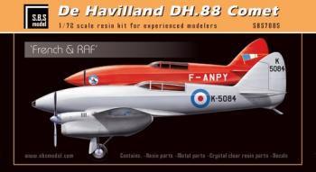 S.B.S. Model #7005 デ・ハビランド DH.88 コメットレーサー 仏&英空軍 1/72