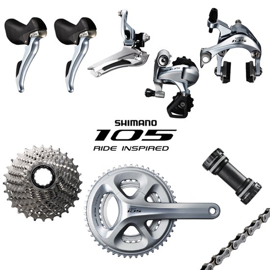 Shimano 105 5800 Road Bike Groupset 2x11S ST-5800 FD-5800 RD-5800 CS-5800 HG601