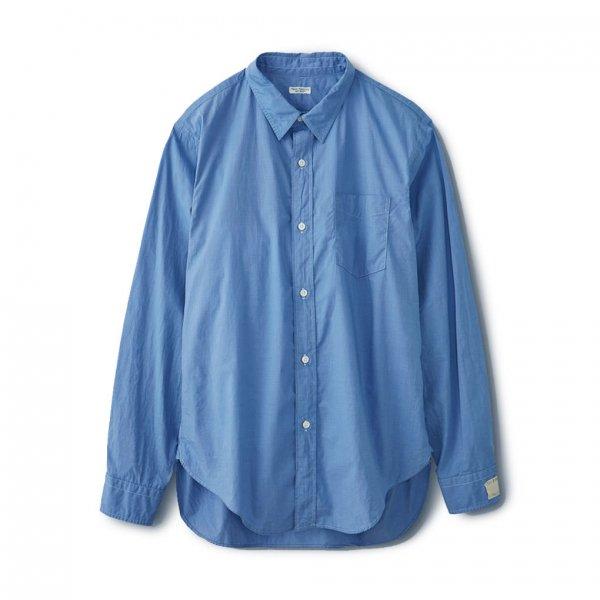 REGULAR COLLAR SHIRT / FRENCH BLUE