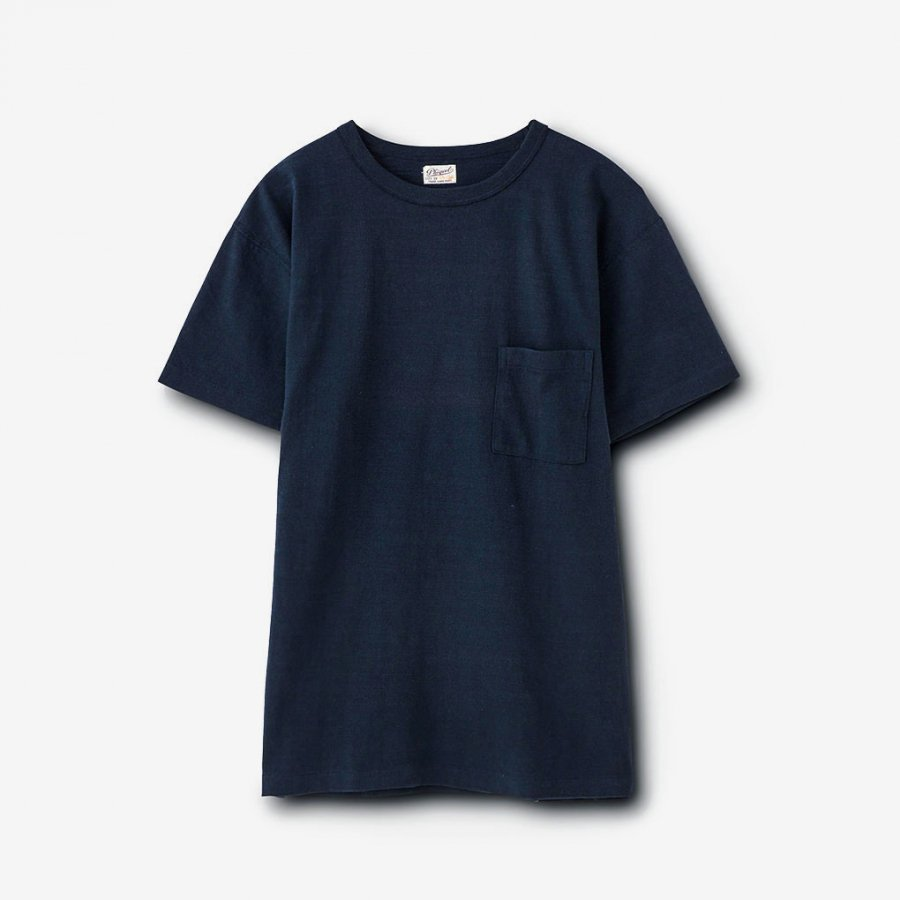 POCKET TEE / NAVY