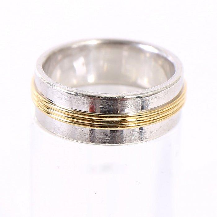 バーバリー 指輪 シルバー 上品な輝き 24186