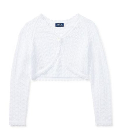 ef21181eb6d8a ラルフローレン カーディガン ポインテル ニット コットン Pointelle-Knit Cotton Cardigan