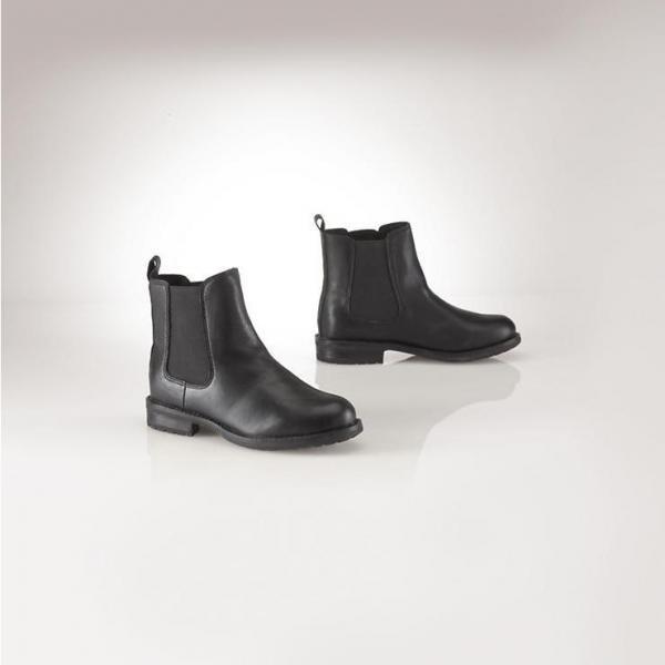 【ラルフローレン】Chelsey Leather Boot チェルシーレザーブーツ