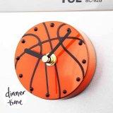 マグネットクロック バスケットボール型