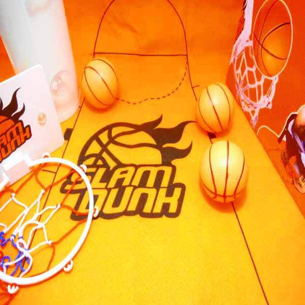 トイレでも遊べるバスケゲームバスケットマット入り【画像4】