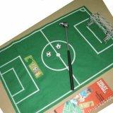 サッカーグッズ・おもちゃトイレでも遊べるサッカーゲームサッカーコートマット入り
