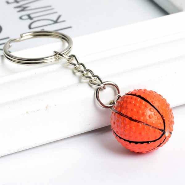 ミニバスケットボールキーホルダー【画像4】