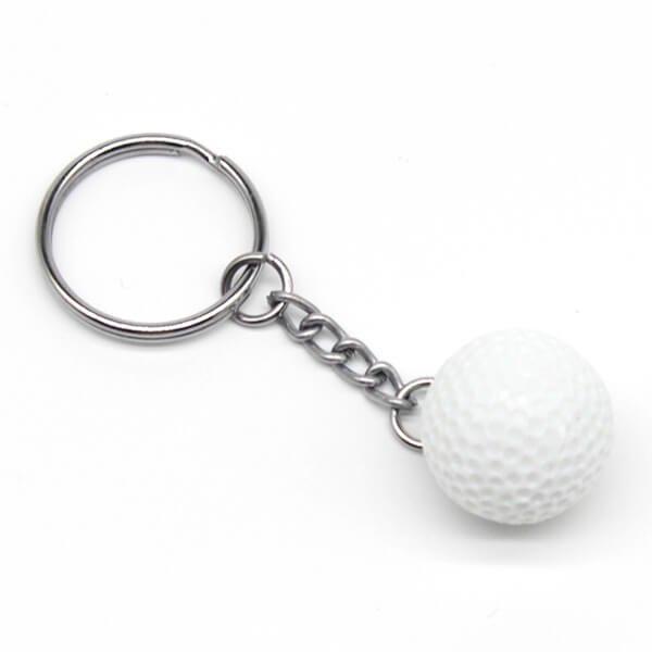 ミニゴルフボールキーホルダー