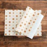 可愛いオリジナル包装紙 バスケットボール柄 10枚セット