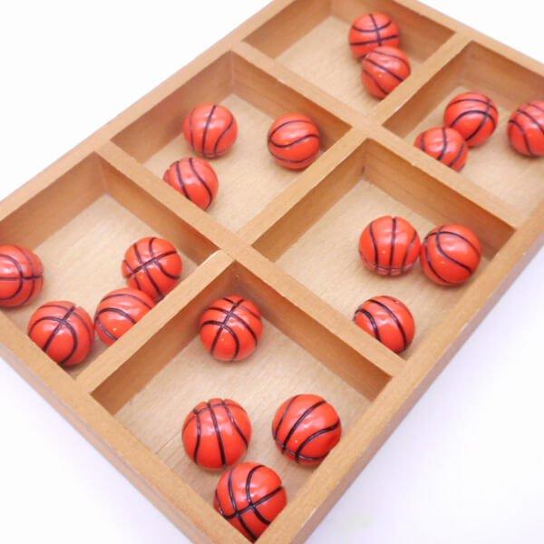 バスケットボールのプリティミニフィギュア 1個【画像3】