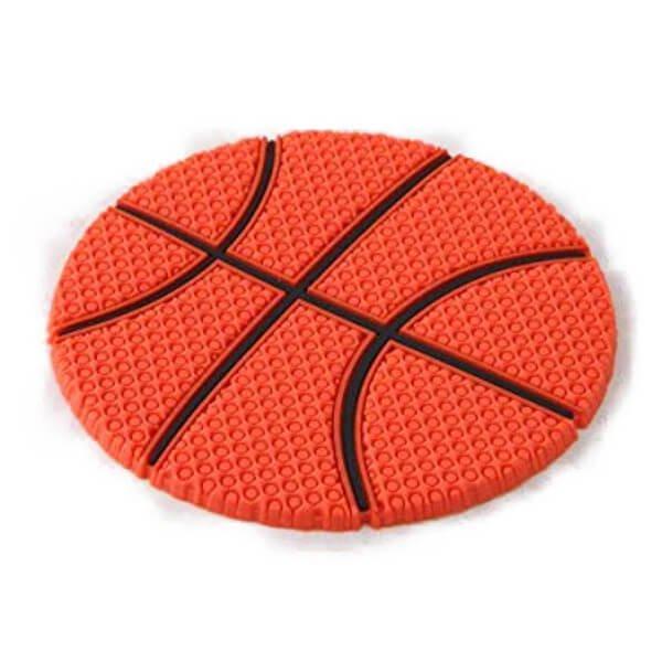 セットがお得 バスケットボール型 ラバーコースター 単価287円〜
