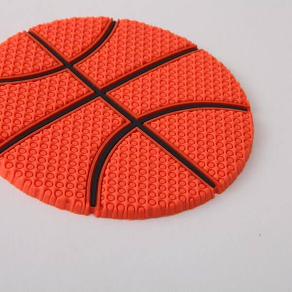 セットがお得 バスケットボール型 ラバーコースター 単価287円〜【画像3】
