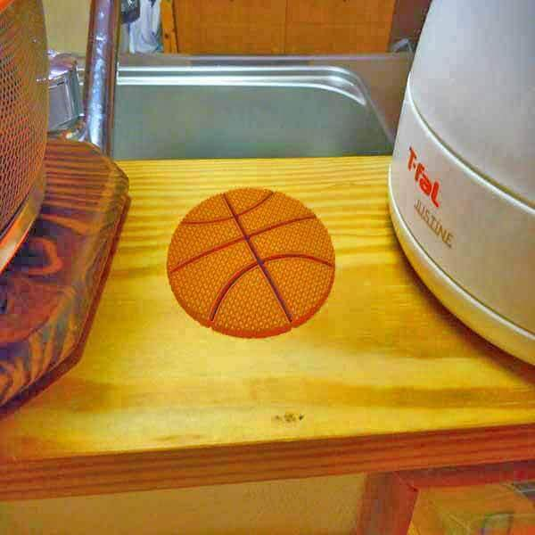 セットがお得 バスケットボール型 ラバーコースター 単価287円〜【画像7】