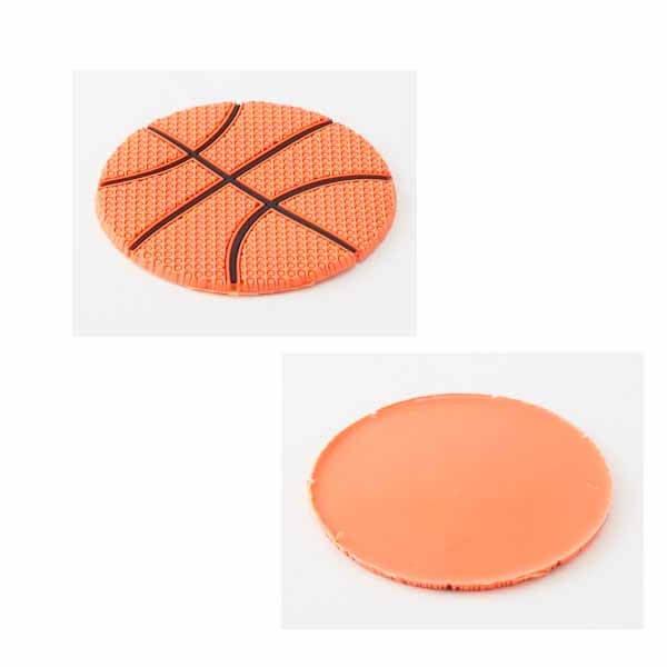 セットがお得 バスケットボール型 ラバーコースター 単価287円〜【画像9】