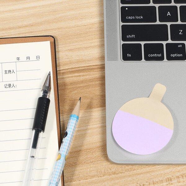 卓球ラケット型の可愛い付箋紙メモ【画像3】