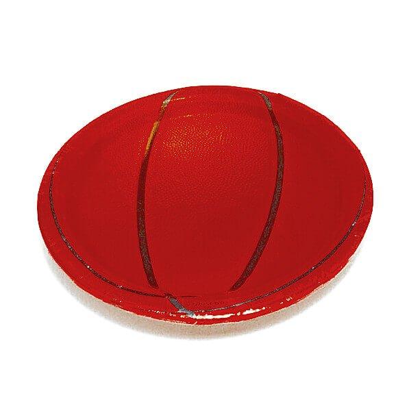バスケットボール柄の紙皿(8枚入り)【画像2】