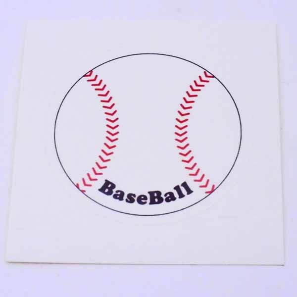 野球グッズ セット購入がお得! 野球ボール型の可愛いシール ボール直径4センチ 単価 19円〜【画像5】