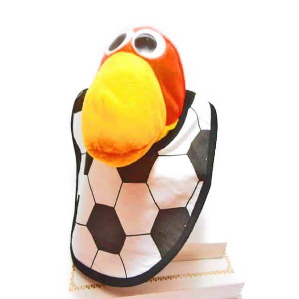 サッカーが好きになるベビースタイ(よだれかけ)【画像2】