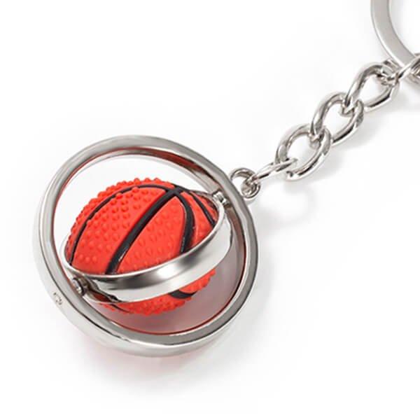 くるくるバスケットボールのキーホルダー【画像3】