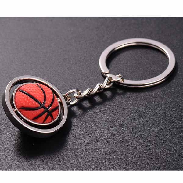 くるくるバスケットボールのキーホルダー【画像7】