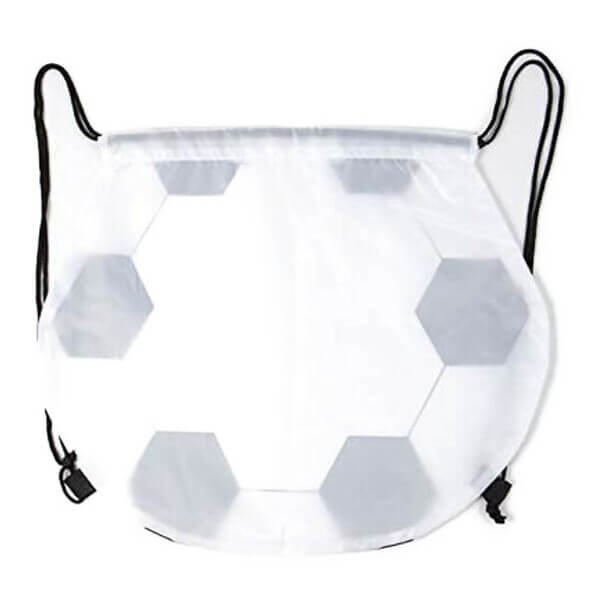 楽しくなるサッカーボール型巾着袋【画像2】