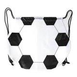 楽しくなるサッカーボール型巾着袋