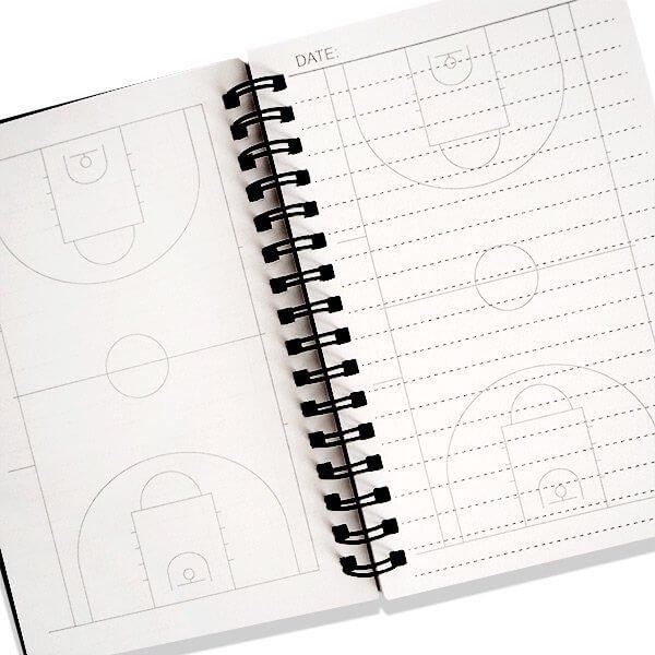 セットがお得 バスケットコートの手帳型作戦ノート 単価482円〜【画像7】
