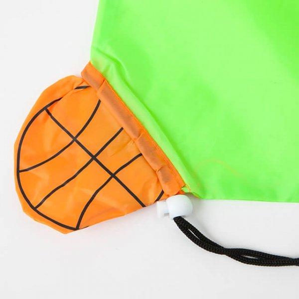 エコバック(きみどり 無地) バスケットボール買い物袋 単価 198円〜【画像6】