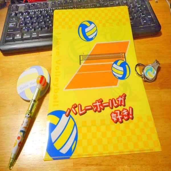 セットがお得 バレーボール好きのためのオリジナルクリアファイル 単価188円〜【画像5】