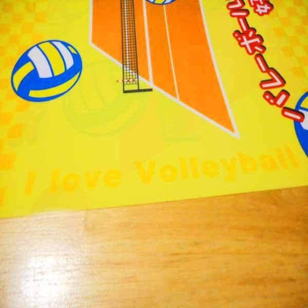 セットがお得 バレーボール好きのためのオリジナルクリアファイル 単価188円〜【画像8】